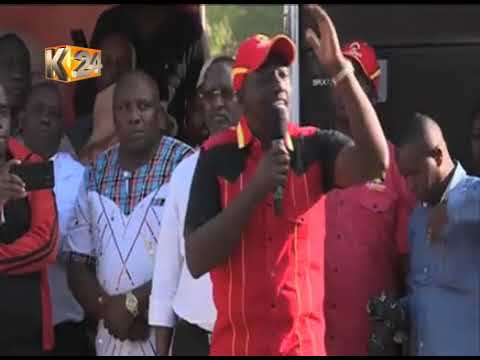DP Ruto leads President Kenyatta re-election campaigns in Isiolo