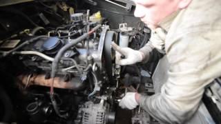 Установка ременя ГРМ Iveco F1A (УАЗ Патріот)