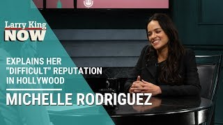 'The Fast and The Furious' Star Michelle Rodriguez Explains Her