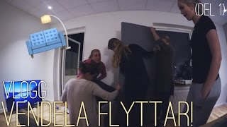 VENDELA FLYTTAR! (DEL 1) || Vlogg
