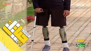 #حياتك11 | ماجد العتيبي يحكي قصته المؤلمة في حادث سير + تأثر الشباب بالموقف