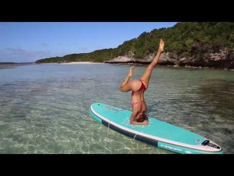 Sup yoga headstand demo