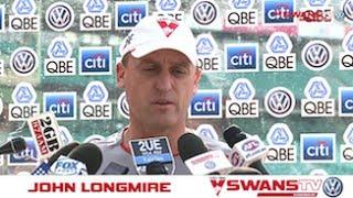 SwansTV: John Longmire press conference R6