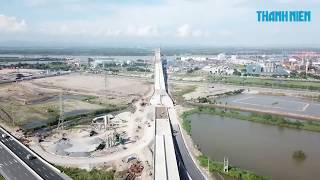 Toàn cảnh cây cầu Bạch Đằng nối Quảng Ninh – Hải Phòng 7000 tỷ đồng