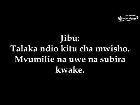 Msimamo Juu Ya Mke Mwenye Ulimi Mchafu