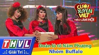 THVL | Cười xuyên Việt - Tiếu lâm hội | Tập 4: Đoàn lô tô Năm Phượng - Nhóm Buffalo thumbnail