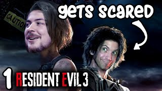 Can Dan handle ANOTHER ZOMBIE GAME??? - Resident Evil 3 : PART 1