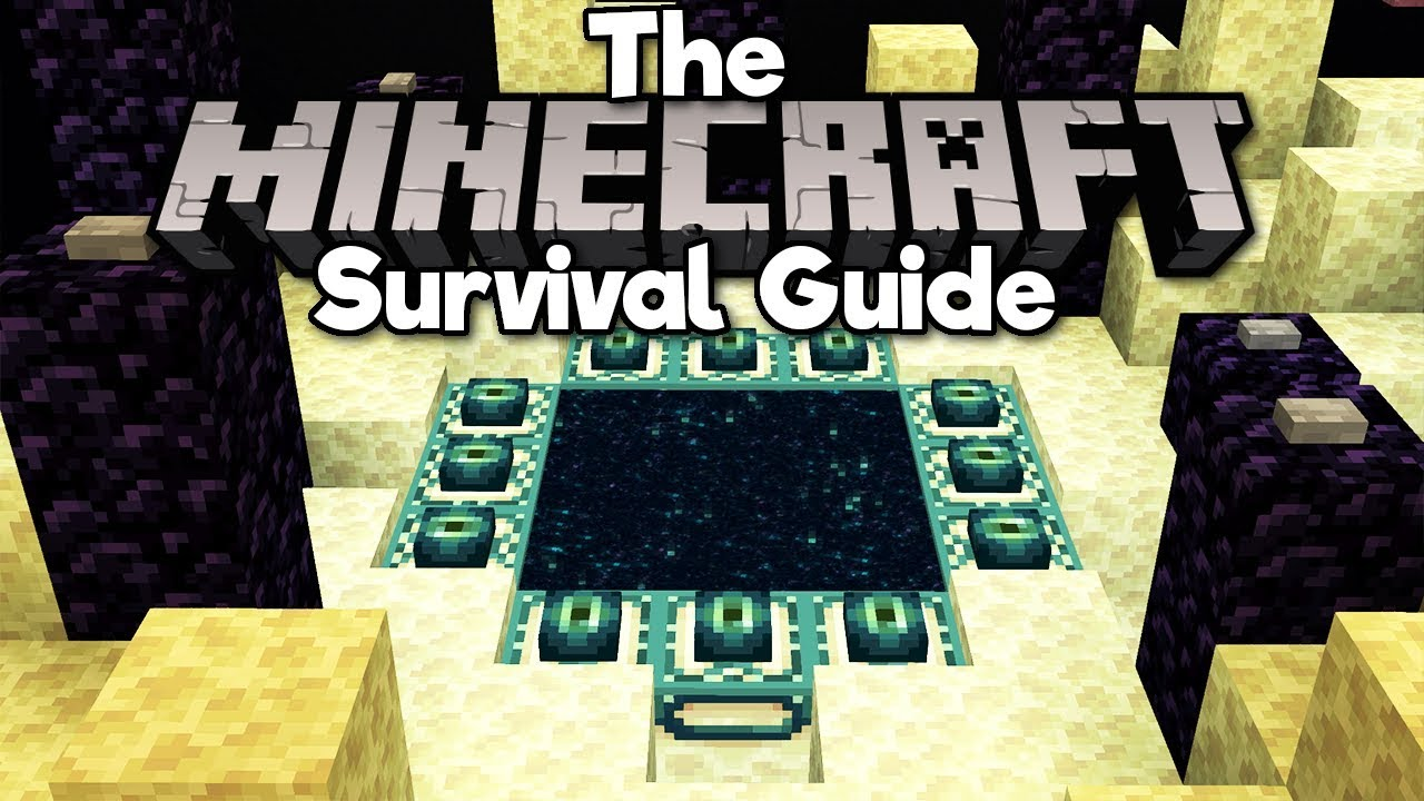 Redesigning The End Portal The Minecraft Survival Guide Tutorial Lets Play Part 159