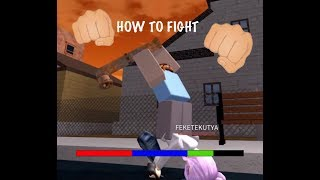 ROBLOX| The Streets| How to Fight! 👊