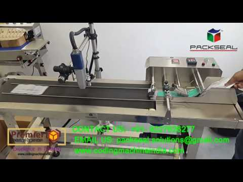 HIGH SPEED STAKCER WITH INKJET PRINTER/ TTO PRINTER