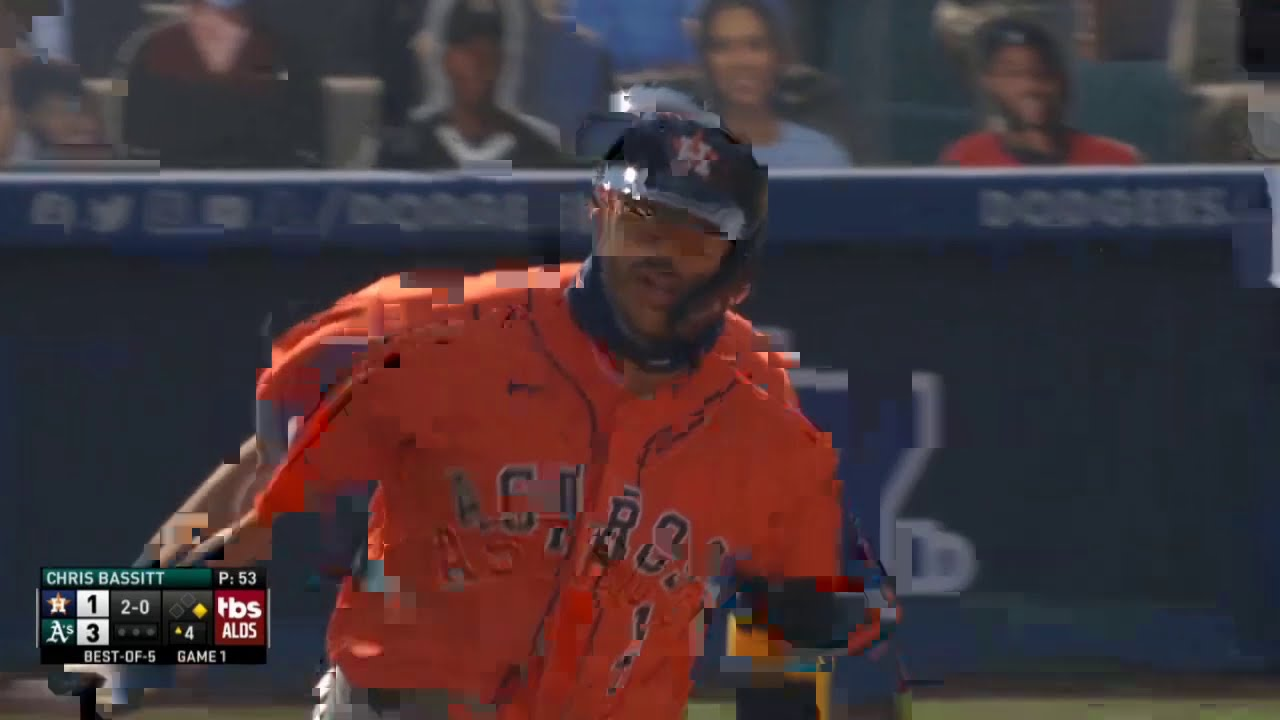 Carlos Correa Ties The Game With a 2-Run Home Run | Astros vs. Athletics (2020)