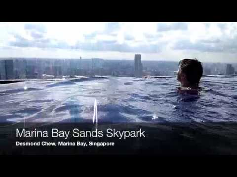Marina Bay Sands Skypark Swimming Pool