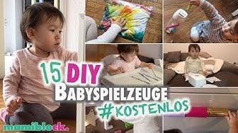 15 DIY Ideen für dein Baby 🤹🏻♀️| Babyspielzeuge | Easy - kostenlos - mamiblock