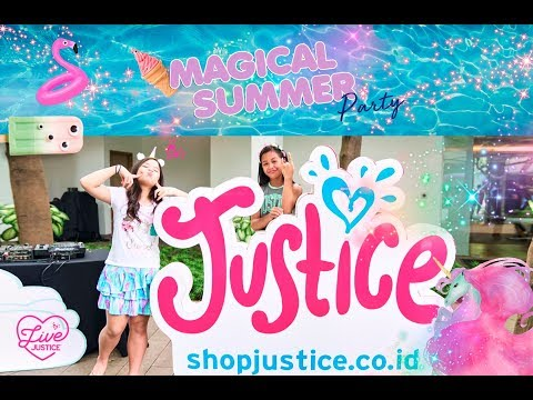 Justice Magical Summer Party VLOG