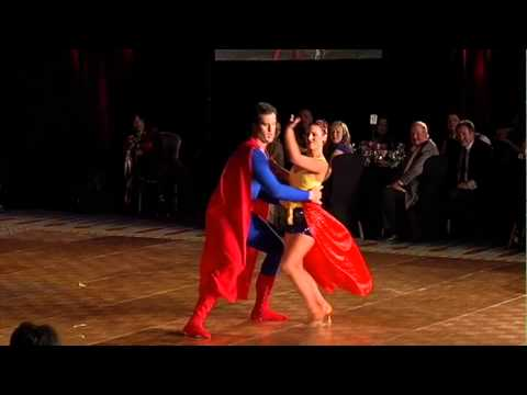 Ben Utecht dancing at the 6th Annual Dancing with the Twin Cities Celebrities