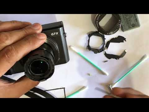 HOW TO OPEN AND CLEAN THE INSIDE LENS OF CANON G7X MARK II Tools