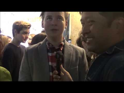 The Outcasts Red Carpet Premiere: CJ Valleroy