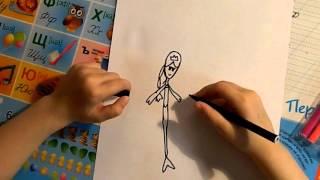 как нарисовать русалку?(Всем привет меня зовут Алина. В этом видео я расскажу как нарисовать русалку., 2016-04-26T12:06:00.000Z)