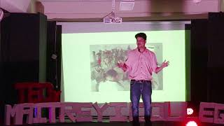 Can Sustainable Development be Sustained by Education? | Tarush Jain | TEDxMaitreyiCollege