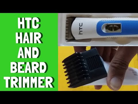 How to fix comb HTC rechargeable hair trimmer AT-028