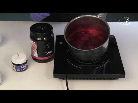 Fruktgeléglaze utan gelatin