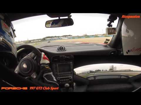 Porsche 997 GT2 circuit de Magny Cours