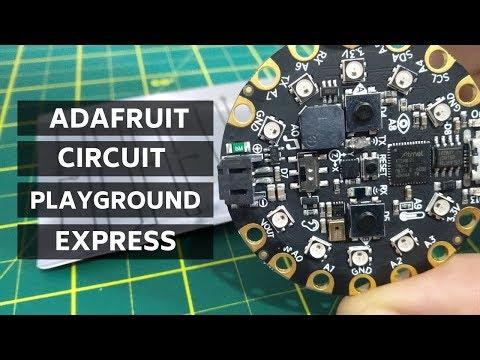 Conheça a Adafruit Circuit Playground Express - Embarcados