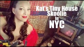 Living In A Tiny House Skoolie In New York City!?