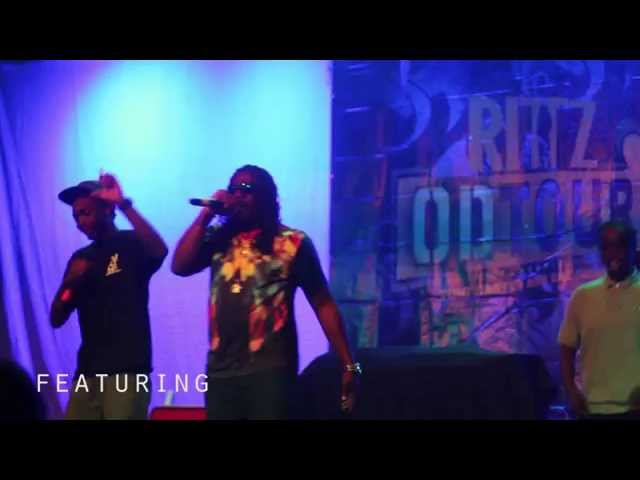 Q Dot Davis opening for Rittz, Tuki Carter, and Raz Simone on Rittz's OD Tour 2014
