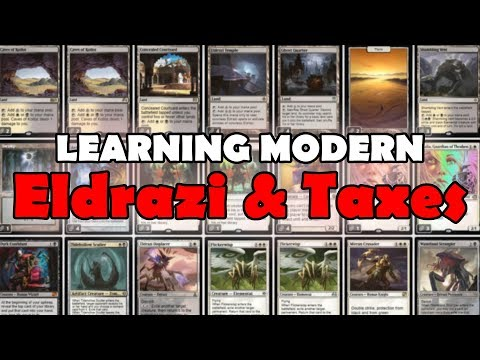 Learning Modern Ep. 1: How to Play Eldrazi & Taxes (Deck Tech + Match)