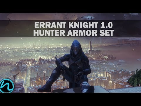 Destiny 2 - Errant Knight 1.0 Hunter Armor Set