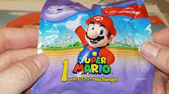 Super Mario Sammel Figuren bei Milka Schokolade mit Nintendo Lizenz