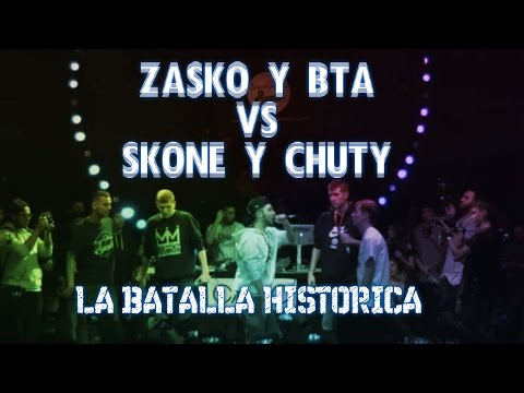 POR DIOS QUE BATALLÓN - ZASKO Y BTA VS SKONE Y CHUTY - REACCIÓN AL VIDEO OFICIAL