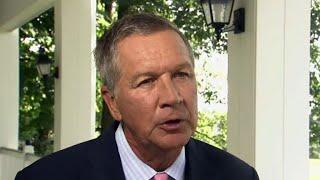"Ohio Gov. John Kasich says the vote for Balderson was ""a vote on the president"""