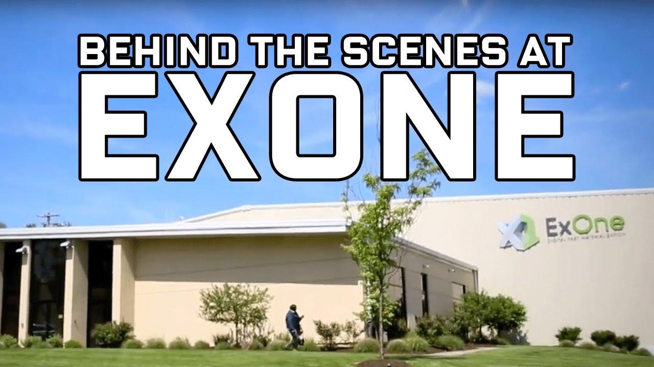 Behind the Scenes at ExOne - metal 3D printing