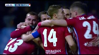 Video Gol Pertandingan Celta Vigo vs Atletico Madrid