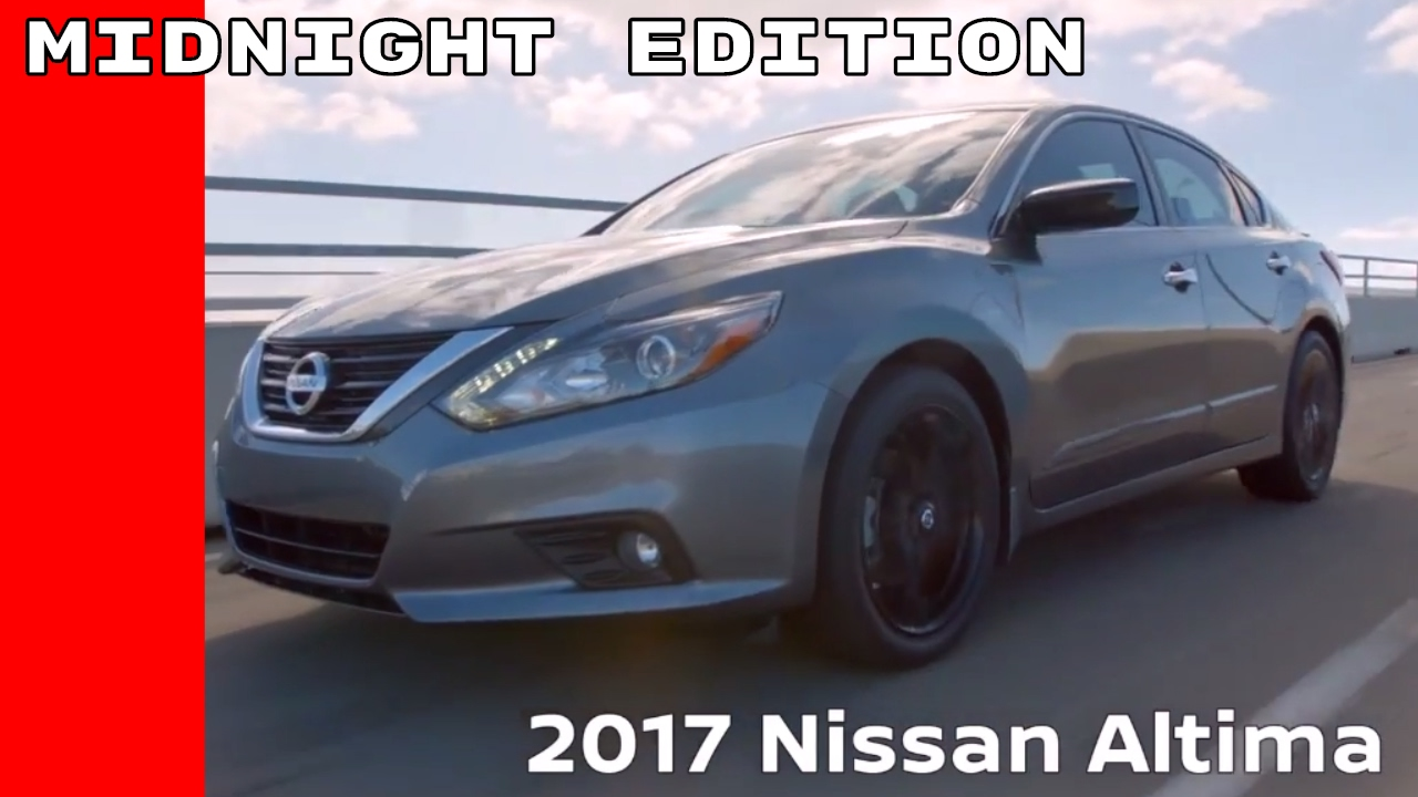 2017 nissan altima sr midnight edition youtube. Black Bedroom Furniture Sets. Home Design Ideas