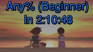 [PS4] Kingdom Hearts: Final Mix - Any% (Beginner) Speedrun in 2:10:48 [Current WR]