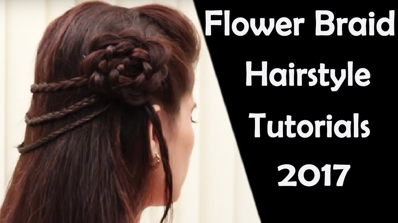 4 Braided Flower Braided Hairstyles Hairstyles For Girls