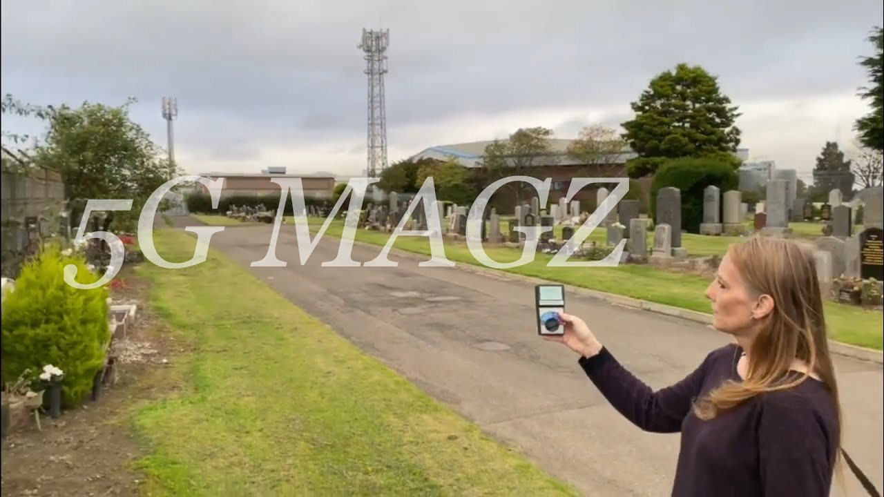 5G Magz Explores Areas In Dundee Taking EMF Readings