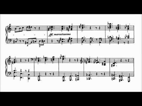 """Béla Bartók - Mikrokosmos #153 """"Six Dances in Bulgarian Rhythm (VI)"""" - Michel Béroff"""