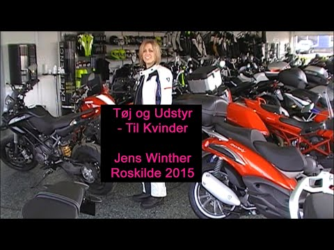 Tøj og udstyr til kvinder - Jens Winther 2015