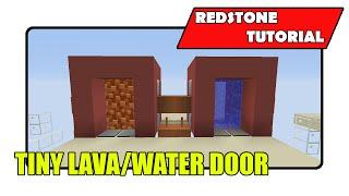 Tiny Lava/Water Door (Minecraft Xbox TU24/CU12/PlayStation CL1.16)