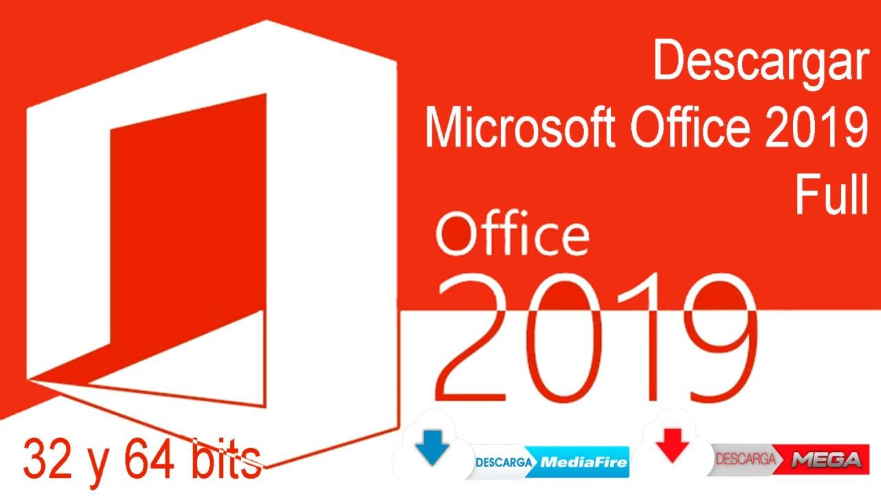 office 2019 español descargar gratis