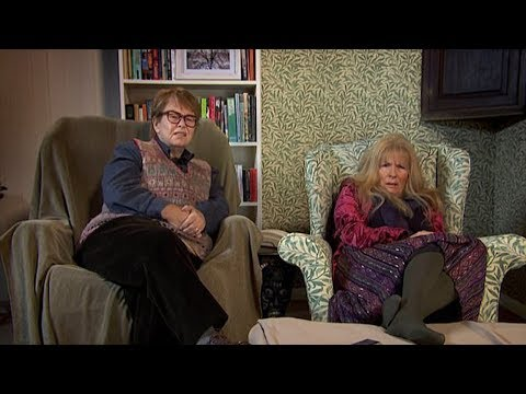 French and Saunders parody Gogglebox couple Miles and Mary