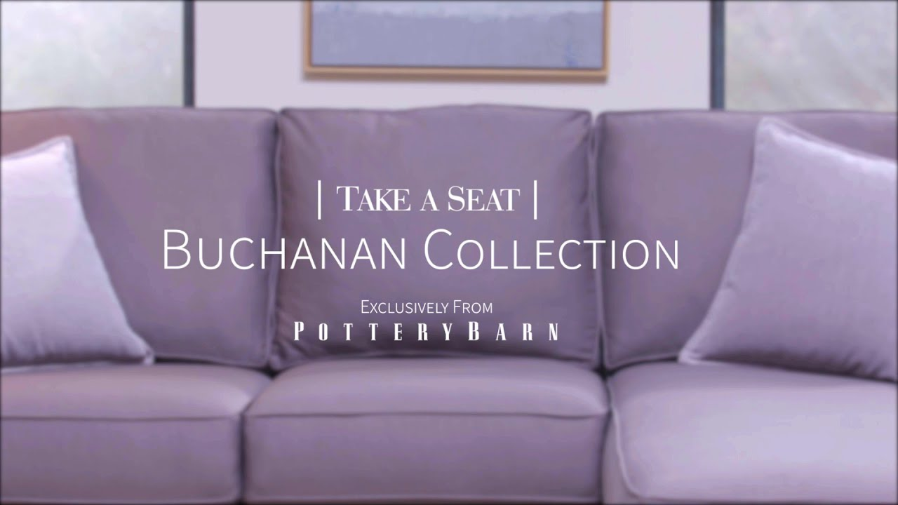 Buchanan Sofa With Chaise Stool Take A Seat Sectional Youtube
