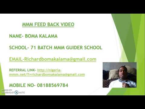 FEED BACK ON MMM GUIDER SCHOOL