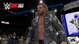 WWE 2K16: Edge Entrance, Signatures, Finishers & Winning Animation!