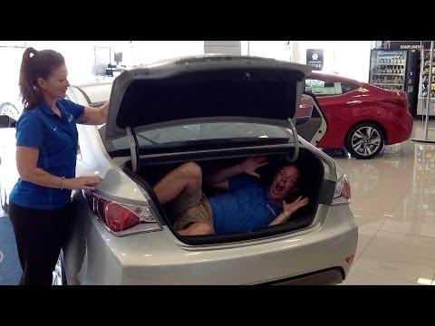 Oklahoma City 2014 Hyundai Sonata Hybrid Test Drive vs. Honda Accord