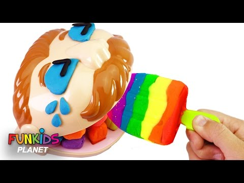 Thumbnail: Learn Colors Video: Paw Patrol Skye & Play Doh Dentist Drill n Fill Rainbow Popsicle Ice Cream